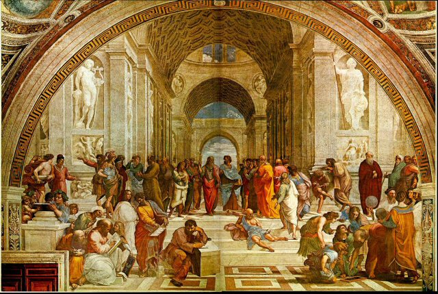 School of Athens, by Rafael/Raphael